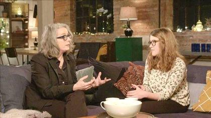 Ariane Legault et la réalisatrice Catherine Martin