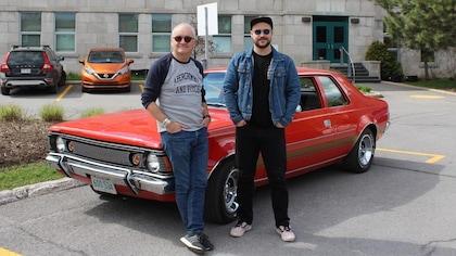 Michel Barrette et Marc-André Grondin.