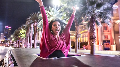 "THIS IS US -- ""Vegas, Baby"" Episode 216 -- Pictured: Susan Kelechi Watson as Beth -- (Photo by: Ron Batzdorff/NBC)"