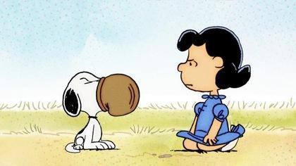 Snoopy se met à la boxe