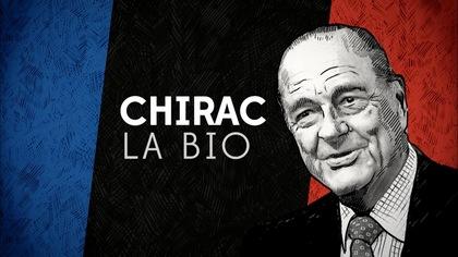 Un portrait de l'ex-président français, Jacques Chirac