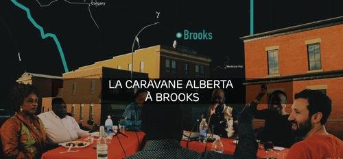 Image-teaser avec texte de la Caravane Alberta à Brooks.