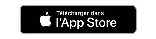 Invitation à télécharger l'application info dans l'App Store.