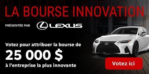 La bourse innovation : votez pour attribuer la bourse de 25 000 $ à l'entreprise la plus innovante.