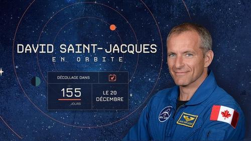 David Saint-Jacques en orbite, le 20 décembre.
