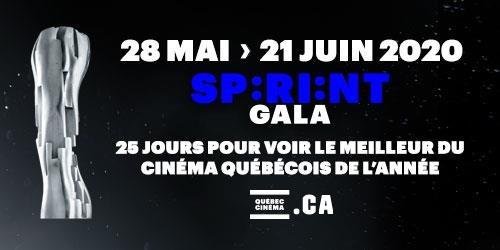 Sprint, 25 jours pour voir le meilleur du cinéma québécois de l'année