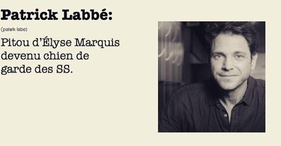 Pitou d'Élyse Marquis devenu chien de garde des SS.