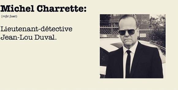 Lieutenant-détective Jean-Lou Duval.