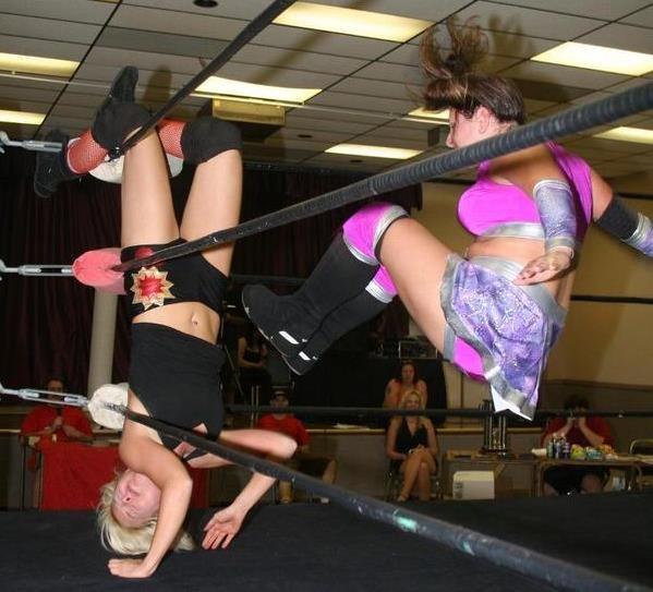 Stéphanie «Misty Haven» Leduc ne s'est jamais économisée sur un ring.