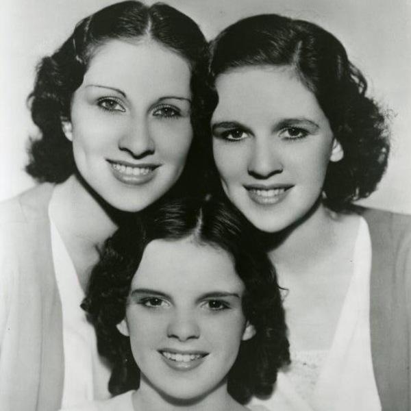 Portrait des Gumm Sisters en 1935.