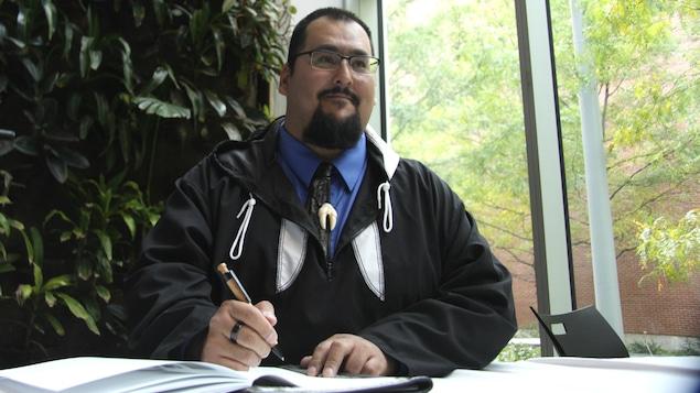 Adamie Delisle-Alaku, président de la Table ronde autochtone du caribou de la péninsule d'Ungava