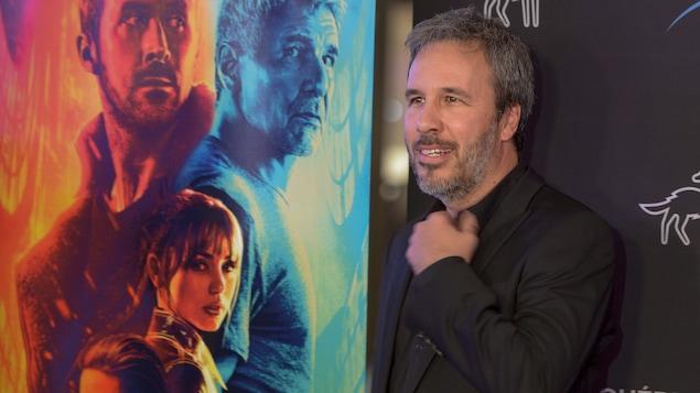 Denis Villeneuve sur le tapis rouge de « Blade Runner 2049 » au Festival du nouveau cinéma