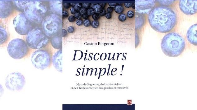 Le livre <i>Discours simple</i> de Gaston Bergeron.