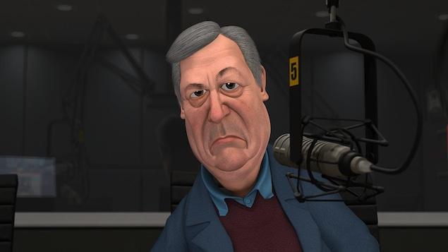 Paul Arcand en personnage Laflaque
