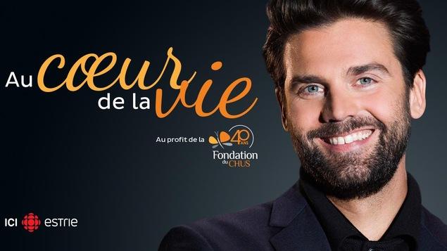Jean-Philippe Wauthier anime la 6e édition de l'émission spéciale Au coeur de la vie au profit de la Fondation du CHUS.