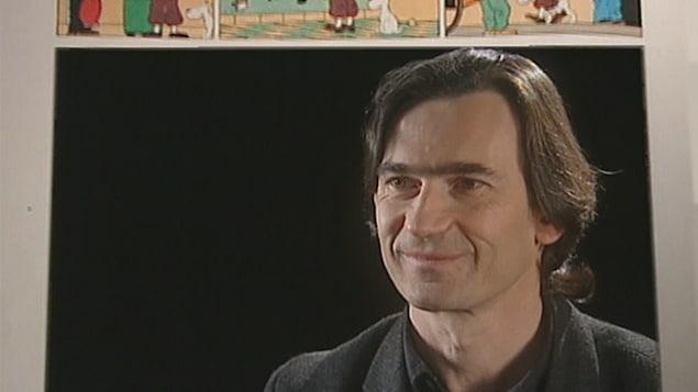 Benoît Peeters en entrevue avec Stéphane Bureau pour l'émission Le Point.
