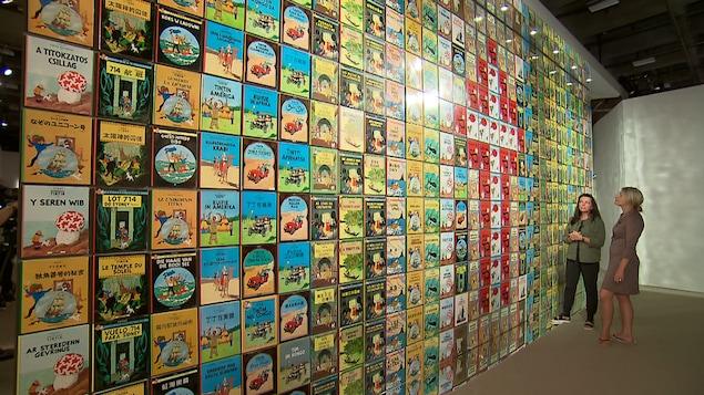 Visite l'exposition Hergé à Québec