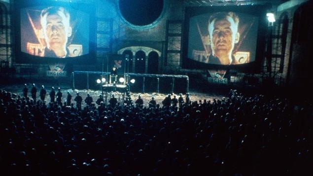 Une scène du film «1984»