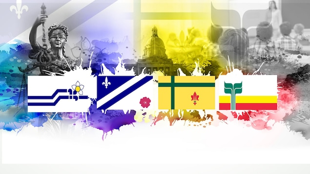 Image-titre du dossier : une année charnière pour les francophones