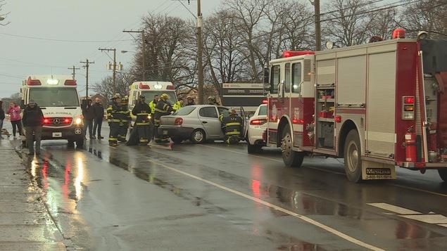 Cet accident s'est produit vendredi dernier, avenue University, à Charlottetown.
