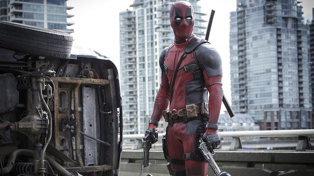 Ryan Reynolds dans le film « Deadpool »