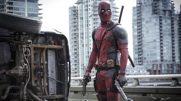 Ryan Reynolds dans le film «Deadpool»