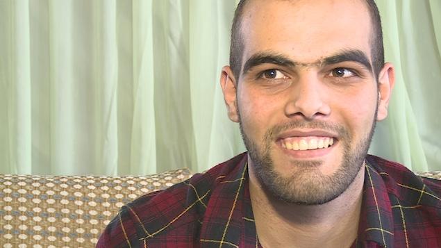 Majd Al Zhouri souriant