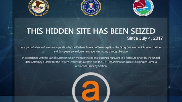 Deux plaques tournantes du trafic de drogue et d'armes fermées — Dark Web