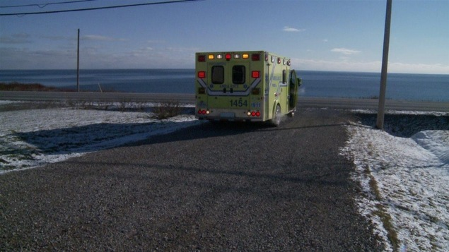 Ambulance en Gaspésie