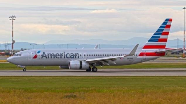 Un avion American Airlines
