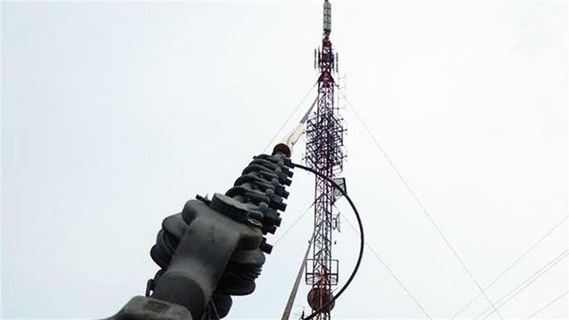 Une antenne de Radio-Canada