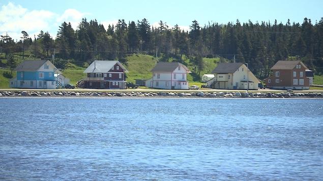 5 maison en rangée