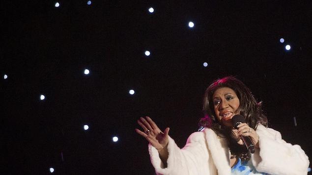 Un dernier album avant la retraite — Aretha Franklin