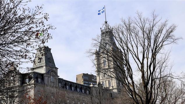 L'assemblée nationale qui abrite le parlement du Québec.