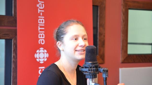 Aurelie Chopart, doctorante en sciences de l'environnement de l'UQAT