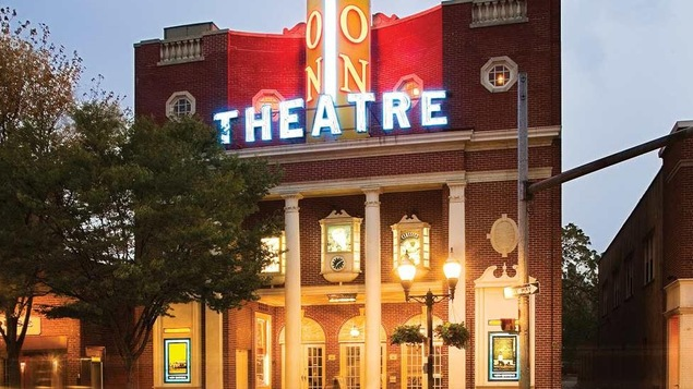 Le Avon Theatre Film Center, à Stamford au Connecticut, où sera présenté des films québécois à l'occasion du Focus on French Cinema