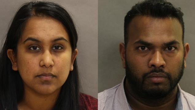 Balasubramaniam Shanjeefkaran et sa femme Sukanya Panchalingam inculpés dans une affaire de fraude de plus de 8 millions de dollars.