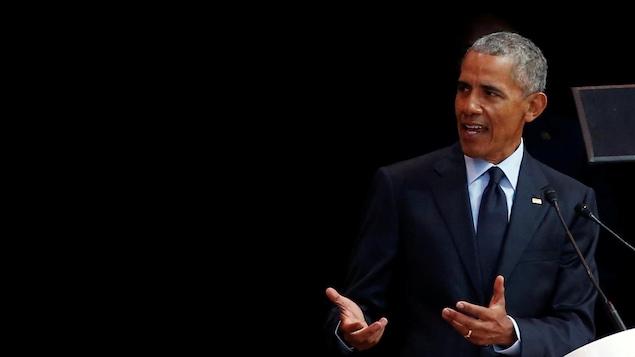 L'ancien président américain Barack Obama