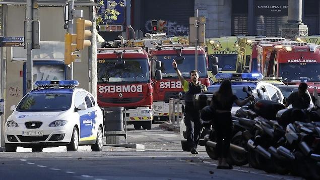 Attentat à Barcelone: au moins deux morts
