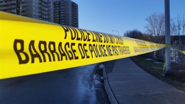 Un barrage policier à Ottawa