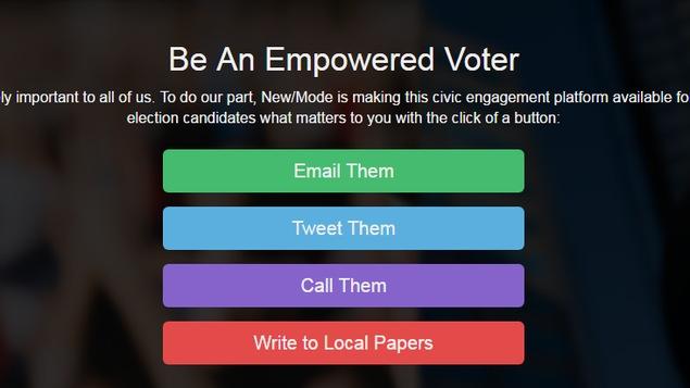 Un nouveau site web permet aux électeurs de la Colombie-Britannique de trouver les candidats dans leur circonscription et de communiquer avec eux.