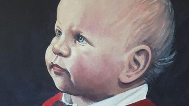 L'artiste Raynald Basque est à la recherche d'un bébé qu'il a peint il y a plus de 30 ans.