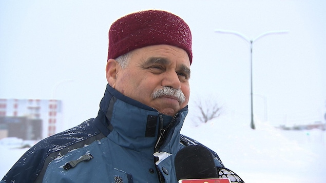 Ben Rouine, président du centre culturel musulman de Sept-Îles