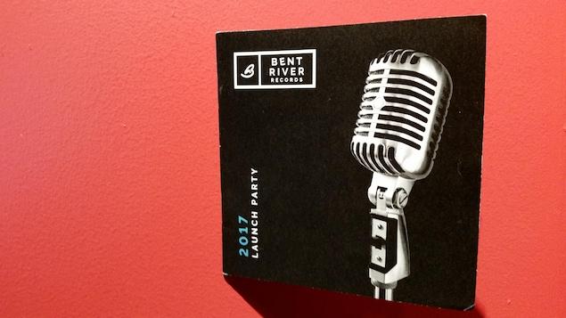 Le programme de la soirée de lancement de la maison de disques Bent River Records