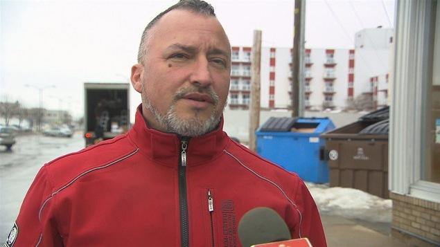 Bernard Gauthier est le représentant du local 791, un syndicat affilié à la FTQ-Construction sur la Côte-Nord.