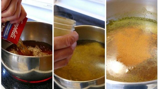 Le bouillon et les épices