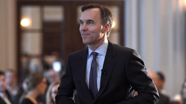 Le ministre fédéral des Finances, Bill Morneau.