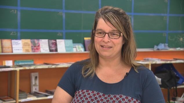 Josée Guindon, gestionnaire au CALACS francophone d'Ottawa.