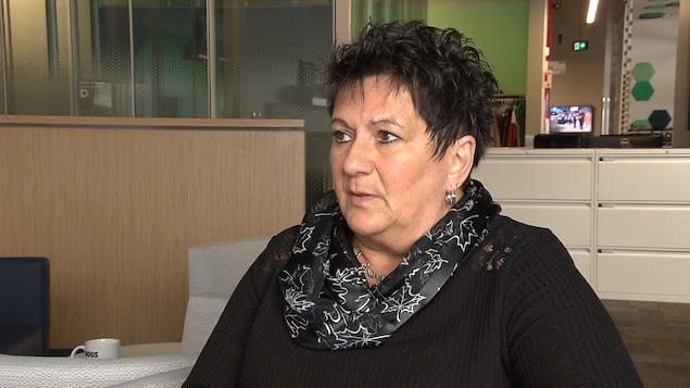 Joanne Cameron en entrevue
