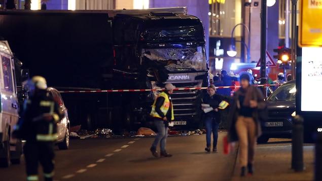 Ce que l'on sait de l'attentat de Berlin